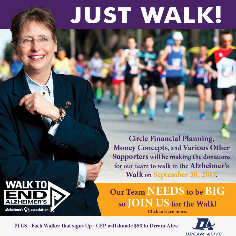JUST WALK! Walk to End Alzheimer's - September 30, 2017